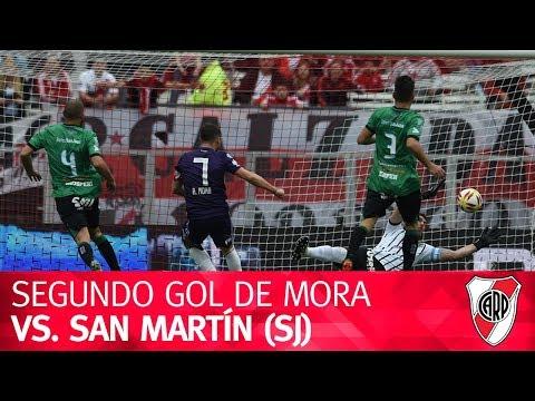 Segundo gol de Rodrigo Mora vs. San Martín (SJ)