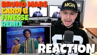 Video Bruno Mars - Finesse (Remix)(Feat. Cardi B) | REACTION MP3, 3GP, MP4, WEBM, AVI, FLV Januari 2018