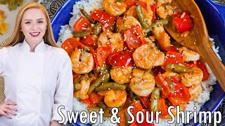 Sweet and Sour Shrimp by Tatyana's Everyday Food