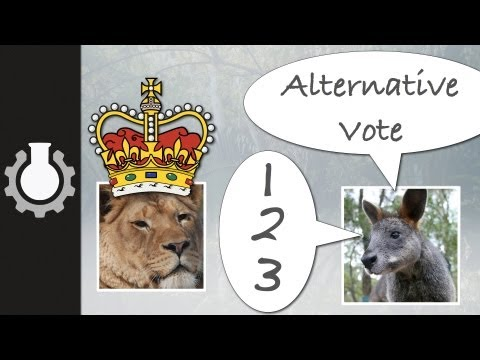Alternative - How the alternative vote works. **CGPGrey T-Shirts for sale!**: http://goo.gl/1Wlnd Grey's blog: http://www.cgpgrey.com/blog/ Watch the full series of Politi...