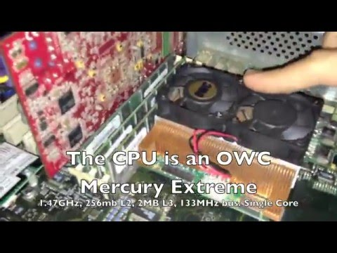 The Fastest Power Mac G4 on YouTube