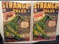 Original 1961 Strange Tales #89 Comic Signed Stan Lee-First Fin Fang Foom/ Let's Look Inside