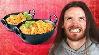 Irish People Try The Hottest Curries