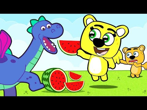 Family quotes - In a new cartoon from a cute family, children learn how to play with new friend and help father
