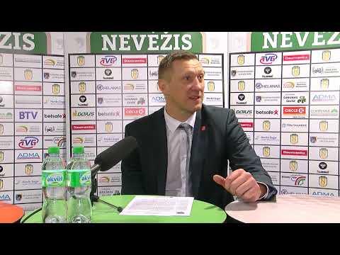"""Karaliaus Mindaugo taurės rungtynių komentarai: """"Nevėžis"""" - """"Juventus"""" [2018-11-14]"""
