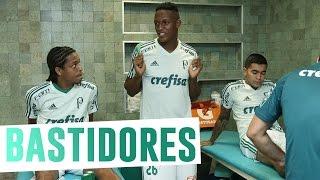 Confira os bastidores da vitória do Palmeiras sobre o Jorge Wilstermann, da Bolívia, pela fase de grupos da Conmebol Libertadores Bridgestone.