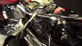 1. How to get to the fuse panel on a Harley Davidson Electra Glide Motorcycle
