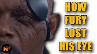Video How Nick Fury Lost His Eye: MCU Explained (Captain Marvel Spoilers) MP3, 3GP, MP4, WEBM, AVI, FLV Mei 2019