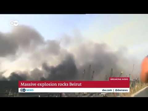 Massive explosin in beirut