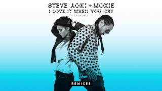 Steve Aoki & Moxie Raia - I Love It When You Cry (Moxoki) [Caked Up Remix] [Cover Art]