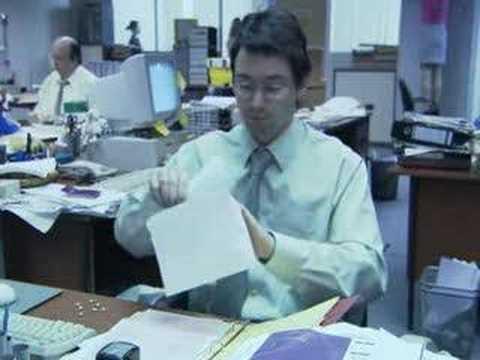 Estragos en la oficina