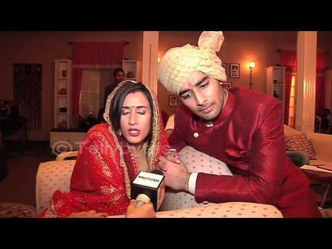 Namita and Priyansh aka Meera and Abhishek talks a