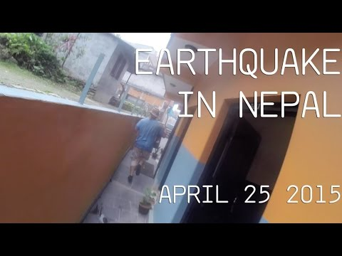 I'm in Nepal--we were jamming some music with a GoPro on when the earthquake hit today.. I'd say the result is entertaining at the least