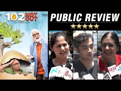 102 Not Out PUBLIC REVIEW | Amitabh Bachchan | Ris