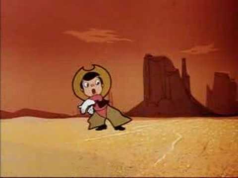 Walt Disney -  A Cowboy Needs A Horse - 1956