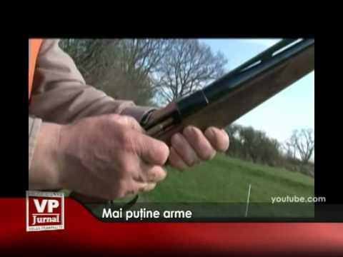 Mai puţine arme