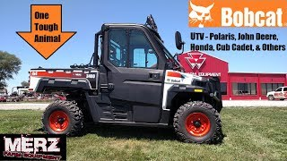 2. The Story of the Bobcat Utility Vehicle (UTV) - One Tough Animal