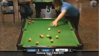 Geelong Open 8 Ball 2013 Final
