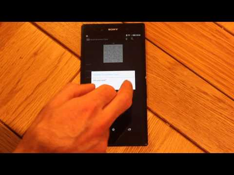 Video of Contact QR Code for SmartWatch