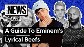 Video A Timeline Of Eminem's Lyrical Beefs | Genius News MP3, 3GP, MP4, WEBM, AVI, FLV Agustus 2019