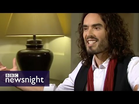 Politics - Newsnight's Jeremy Paxman talks to Russell Brand about voting, revolution and beards, as he launches his guest edit for the New Statesman.