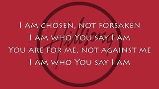 Hillsong Worship - Who You Say I Am [Lyric Video]