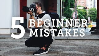 Video 5 BEGINNER PHOTOGRAPHY MISTAKES + How to Solve Them! MP3, 3GP, MP4, WEBM, AVI, FLV September 2018