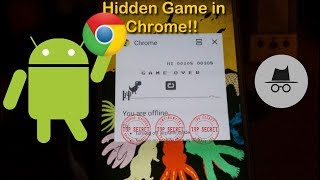 Check out this cool Hidden Dinosaur or T-Rex Game that has been hidden under your nose all this time in Android on your phone and Tablet and you did not even notice.