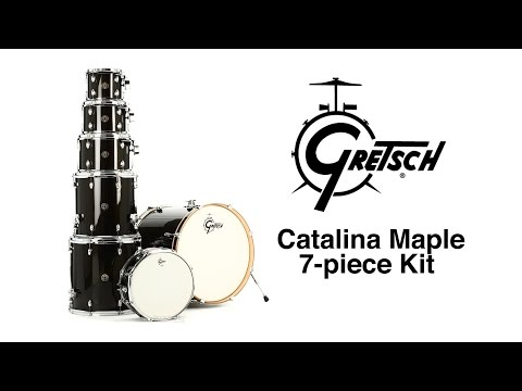 Gretsch Drums Catalina Maple 7-piece Drum Kit Review By Sweetwater