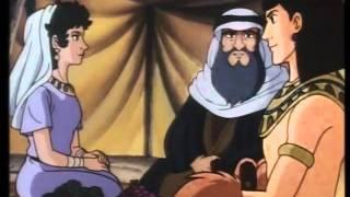 BIBLIA ILUSTRADA PARA NIÑOS--12 - LA ZARZA ARDIENTE.