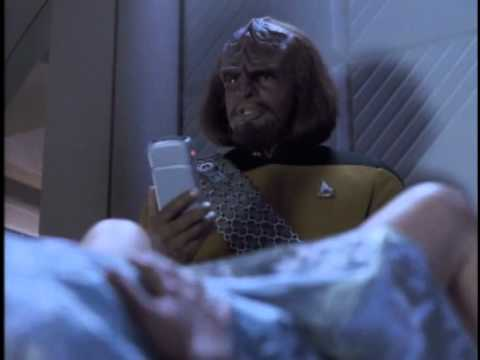 TNG Worf delivers Molly (Disaster)