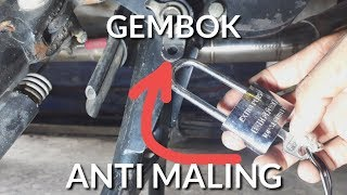 Video 5 Tips & Trick Pasang Gembok Pada Motor ANTI MALING | Life Hacks MP3, 3GP, MP4, WEBM, AVI, FLV November 2018