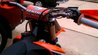 5. First Start-2012 KTM 350 SX-F (Read Description)