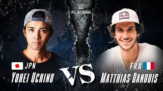 "Video FLAT ARK 2016 ""FINAL BATTLE"" Yohei Uchino VS Matthias Dandois MP3, 3GP, MP4, WEBM, AVI, FLV Agustus 2017"