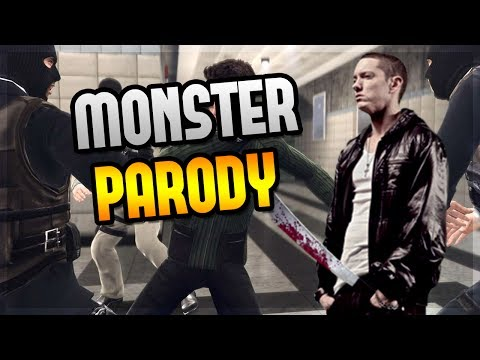 COD - Eminem MONSTER Song Parody ft. Rihanna Hit the LIKE button if you enjoyed this video! ▻Video Creator: http://www.youtube.com/TheFrasernash - - - - - - - - - ...