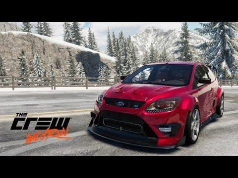The Crew Wild Run Ford Focus RS Drift Spec Customization 600th Video