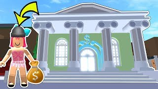 Roblox: ROBBING A 1,000,000,000 DOLLAR BANK!!!