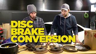 4. Drum to Disc Brake Conversion DIY