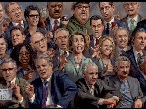 liberalism - I like to paint pictures that express how I feel about what is happening in America. We have a disease. It's infecting every aspect of our society and it's t...
