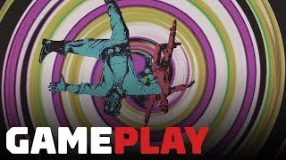 No More Heroes: Travis Strikes Again - Travis and Badman Cooperative Combat Gameplay by IGN