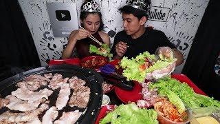 How to ENJOY KOREAN BBQ at HOME!!! (Samgyupsal sa BAHAY)