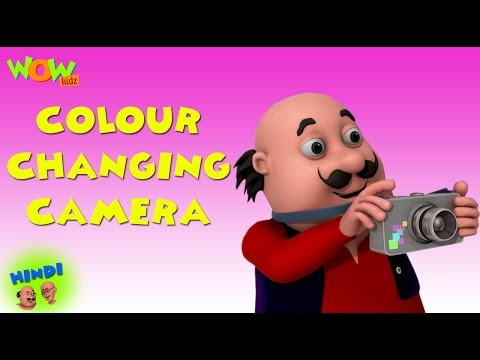 Video Colour Changing Camera - Motu Patlu in Hindi WITH ENGLISH, SPANISH & FRENCH SUBTITLES download in MP3, 3GP, MP4, WEBM, AVI, FLV January 2017