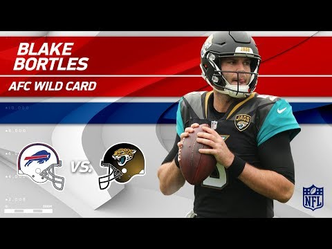 Video: Blake Bortles NFL Playoffs Debut Highlights! | Bills vs. Jaguars | Wild Card Player HLs