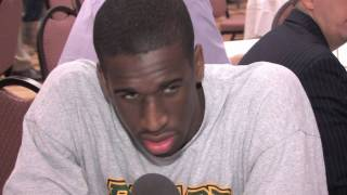 Ekpe Udoh Draft Combine Interview - Part 2