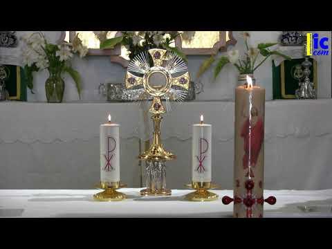 Rosario de la Divina Misericordia y Bendición