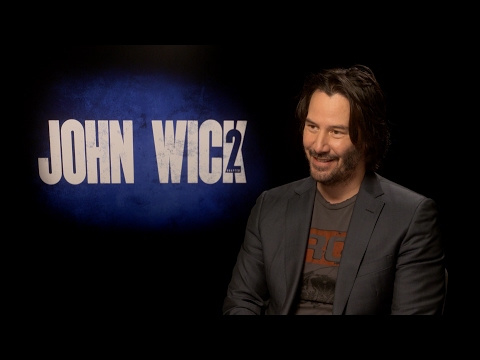 John Wick - Keanu Reeves Wants to Go to Jerusalem for John Wick 3 - Interview - New!