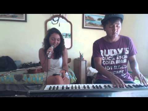 El perdón Nicky Jam cover acústico completo by Alexandra and Misael guitarra y piano