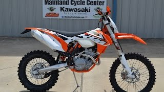 9. $8,599:  2015 KTM 250 XCF-W Overview and Review