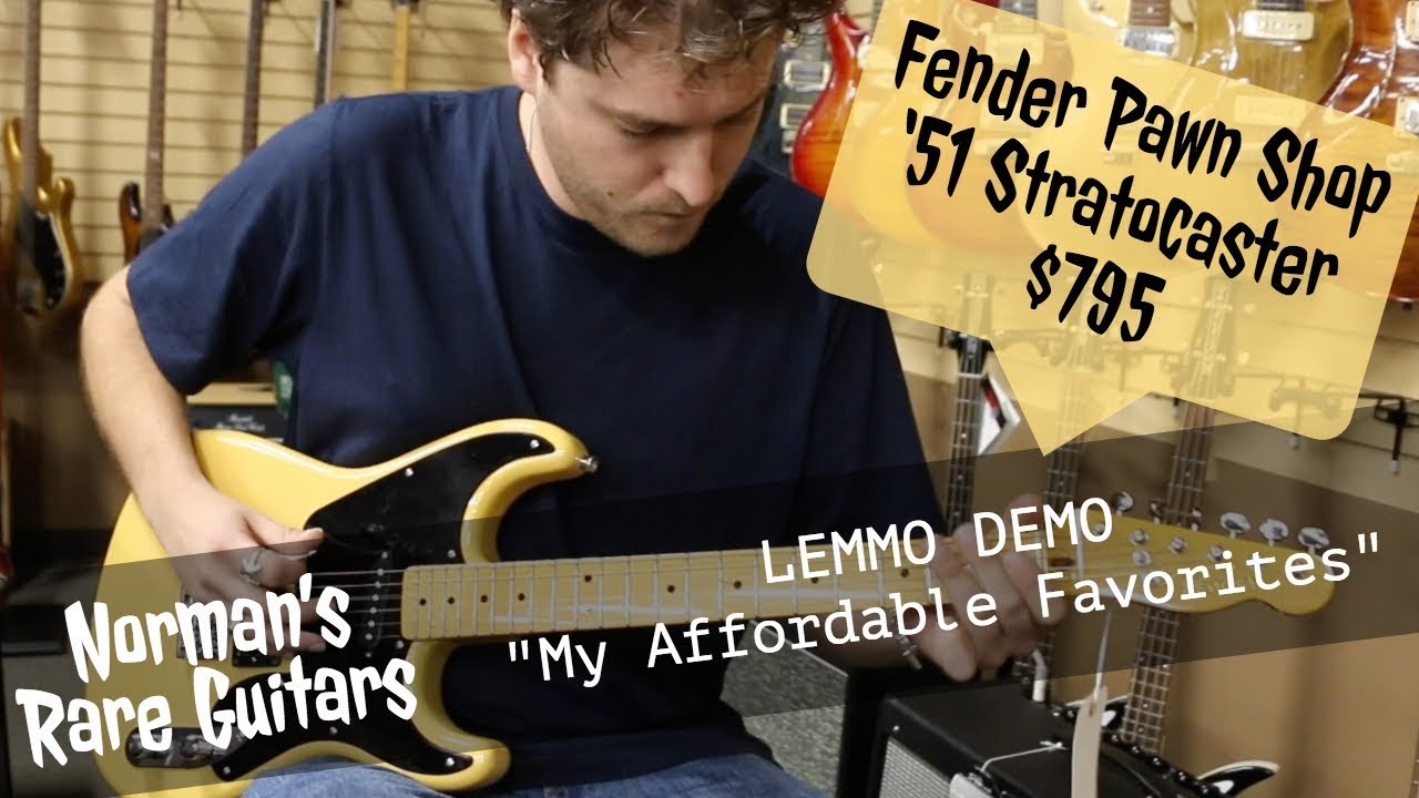 LEMMO DEMO: Fender Pawn Shop 1951 Stratocaster for $795 | Norman's Rare Guitars