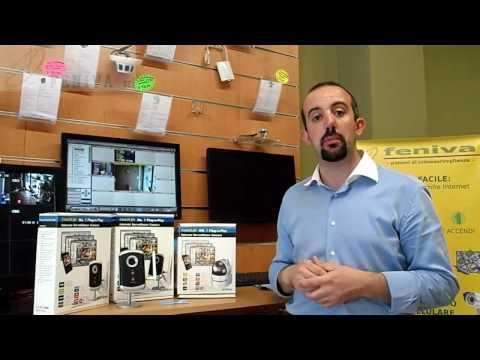 Telecamera ip, wireless visibili su iphone e computer